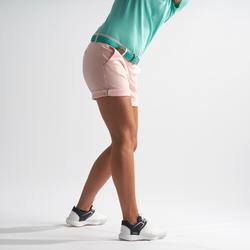 Golfbermuda voor dames lichtroze