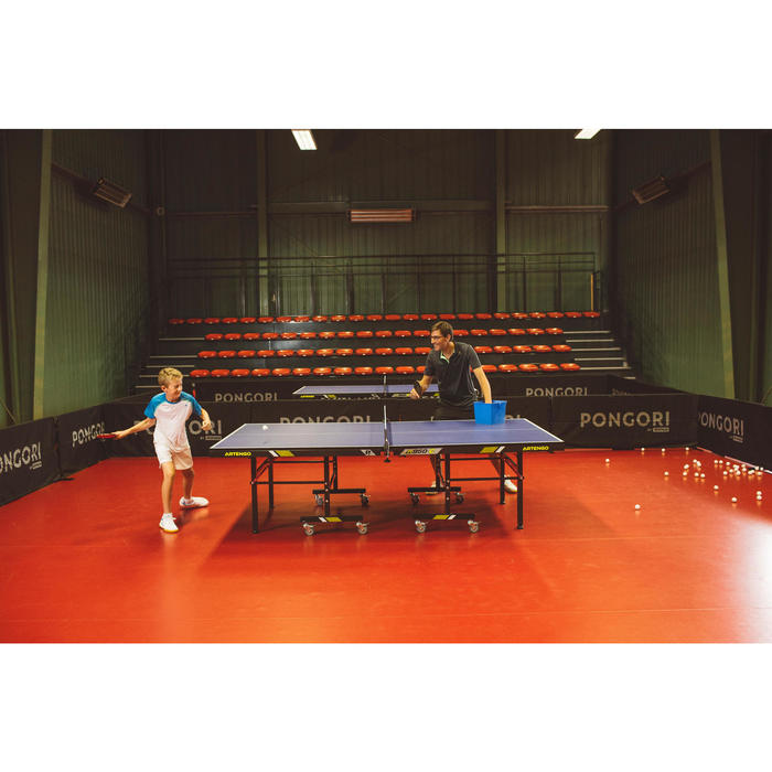Tafeltennisbat club en school TTR 130 4* Spin met hoes