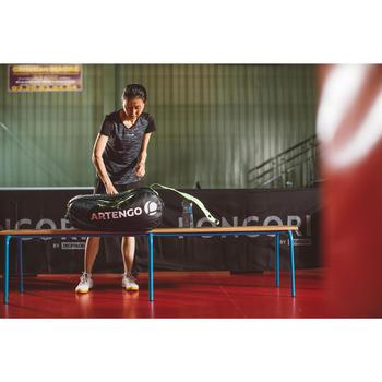 CHAUSSURES DE TENNIS DE TABLE TTS 500 BLANCHES