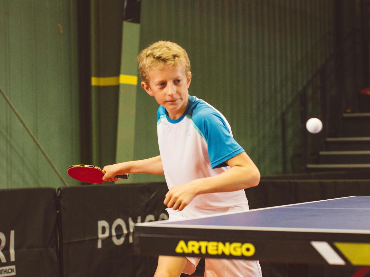 Les bienfaits du ping-pong chez l'enfant