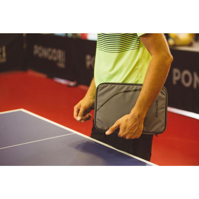 Schlägerhülle TTC500 Tischtennis grau