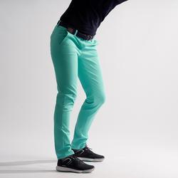Golfbroek voor dames zacht weer groen/turkoois