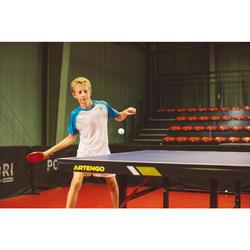 Tischtennisschläger Club und Schulsport TTR 130 4* Spin mit Schlägerhülle