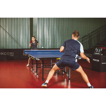 Schiedsrichtertisch Tischtennis