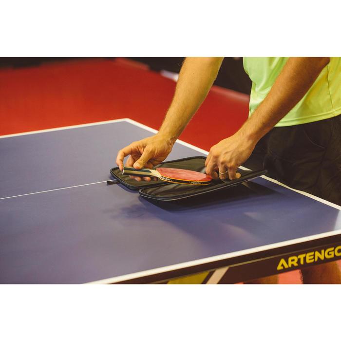 Schlägerhülle TTC500 Tischtennis marineblau