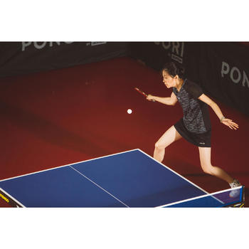 BALLES DE TENNIS DE TABLE TTB 100 1* 4+ X6 BLANCHE