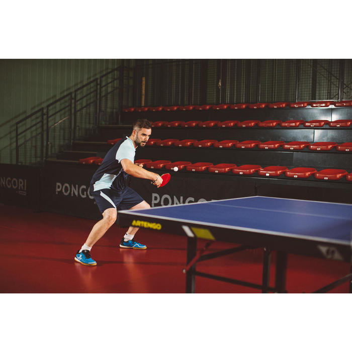 FRB 970 Table Tennis Bat Rubber - Red/Black