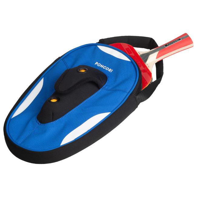 TTC 160 Table Tennis Bat Cover - Blue