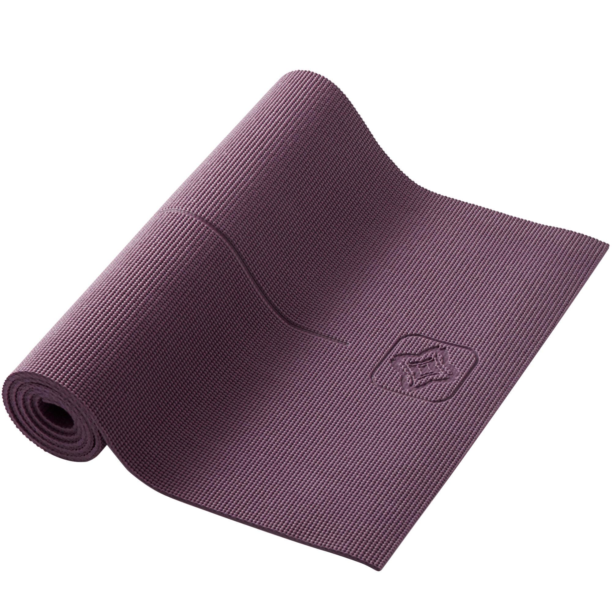 Mat yoga suave burdeo