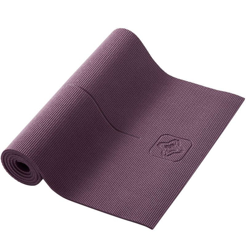 YOGA MATS Fitness and Gym - Gentle Yoga Mat 8 mm DOMYOS - Fitness and Gym