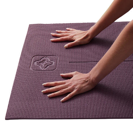 Matras Yoga Ringan 8 mm - Burgundy