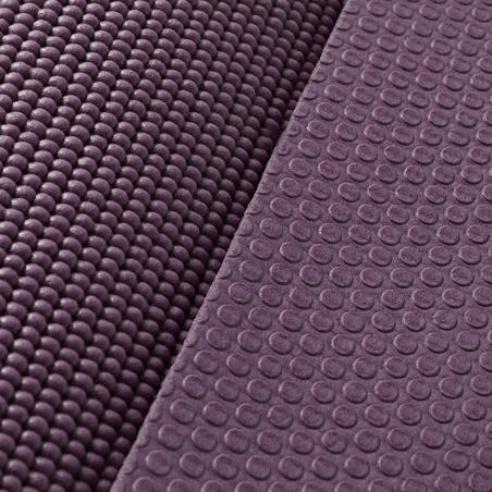 Gentle Yoga Mat 8 mm - Burgundy