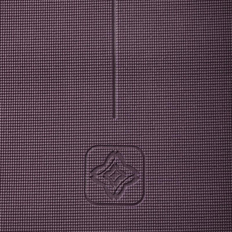 ffe98cd222fc Jógaszőnyeg kímélő jógához Confort, 8 mm, bordó | Domyos by Decathlon