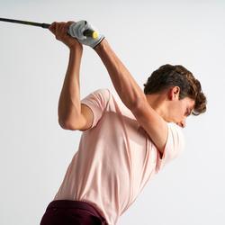 Golfpolo voor heren lichtroze