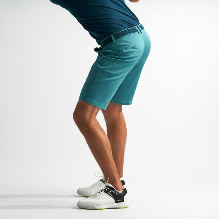 SHORT DE GOLF HOMME TEMPS TEMPERE BLEU GRIS