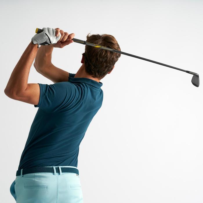 Golf Poloshirt kurzarm Herren dunkelpetrol