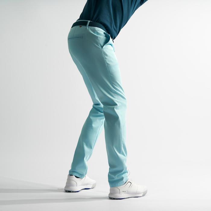 Golfhose Herren himmelblau
