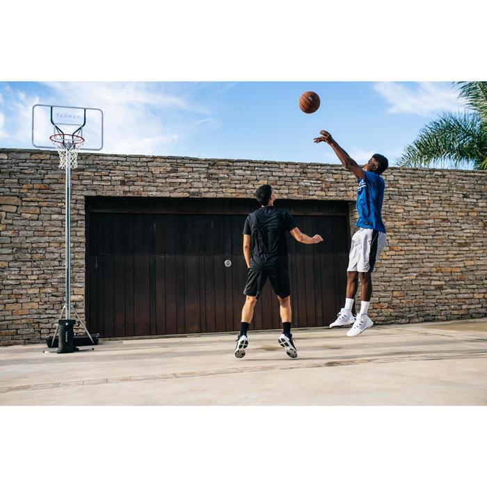 Basketballkorb B100 Pro Kinder/Erwachsene 2,60m bis 3,05m. Plexi-Board.
