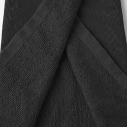 Toalla de golf tres pliegues negro