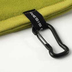 高爾夫三折毛巾-黃色