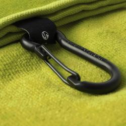Golfhandtuch Trifold gelb