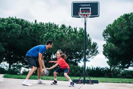 canestro da basket con base