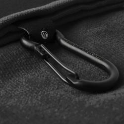 Golfhandtuch Trifold schwarz