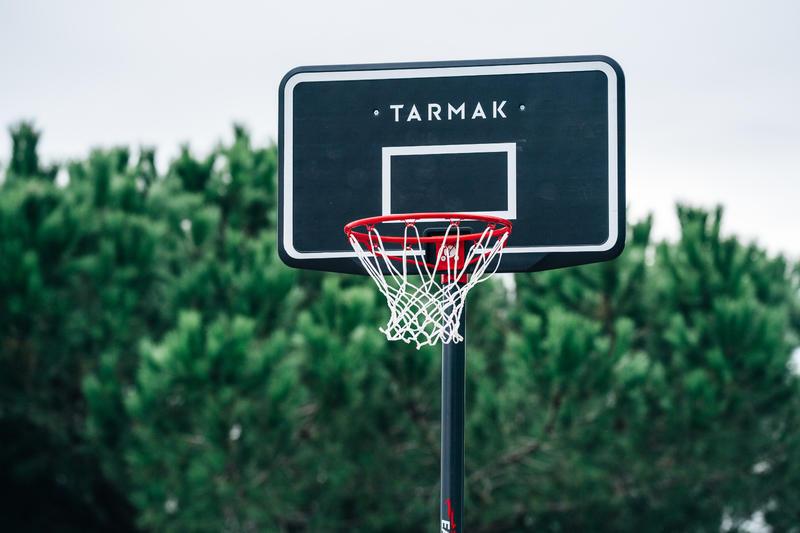 Aro de Basketball niño/adulto B100 Easy. Ajustable sin herramientas 2,20-3,05 m