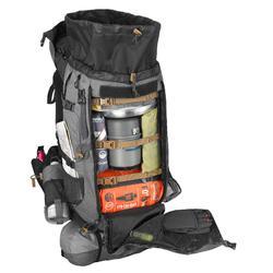 Trekkingrucksack TREK 900 mit 50+10 Liter Herren grau
