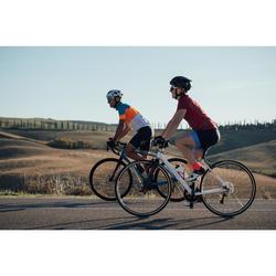 Kurzarm-Radtrikot Rennrad RC 500 Damen pink