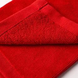 Toalla de golf tres pliegues rojo
