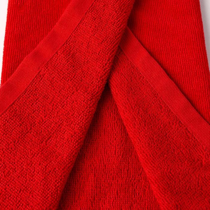 Toalla Golf Rojo Tres Pliegues