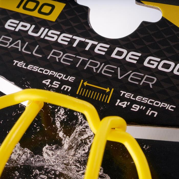 Golfbalhengel 100 telescopisch 4,5 m