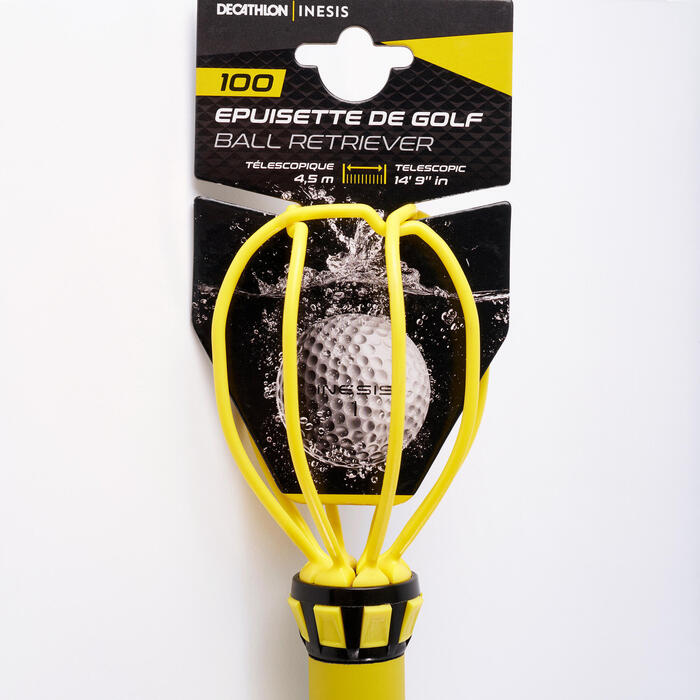 EPUISETTE DE GOLF 100 TELESCOPIQUE 4,5M