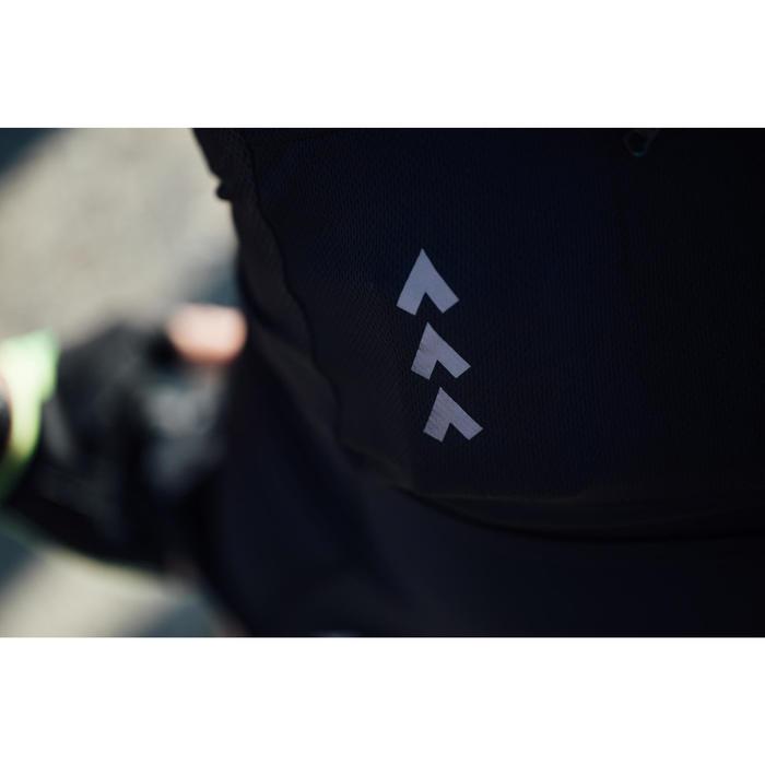 Kurzarm-Radtrikot Rennrad RC 500 Herren schwarz