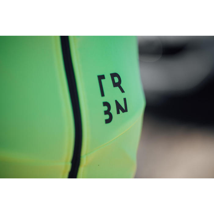 Langarm-Radtrikot Rennrad RC 500 Herren neongelb