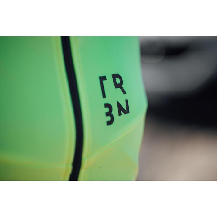 Wielershirt RC500 met lange mouwen voor heren fluogeel