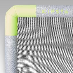 Fußballtor aufblasbar NG500S grau/gelb
