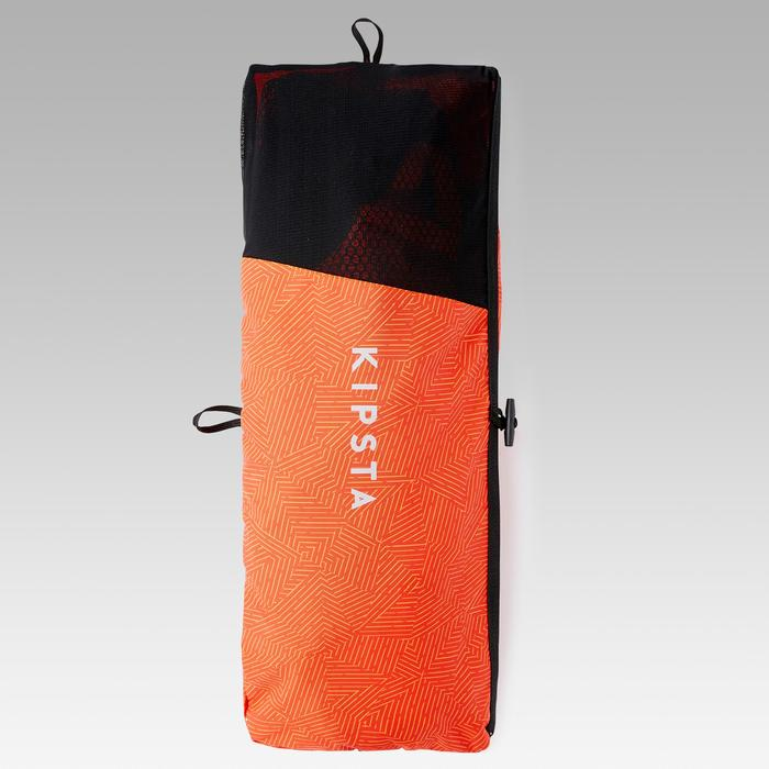 But de football gonflable AIR KAGE Rouge Orange