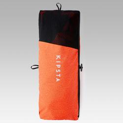 Portería de Fútbol inflable Kipsta NG500S rojo naranja