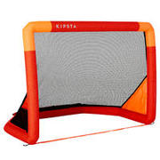 Inflatable Football Goal Air Kage - Red/Orange