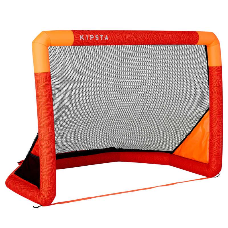 Bramki Sprzęt sportowy dla dzieci - Bramka AIR KAGE czerwona KIPSTA - Sprzęt sportowy dla dzieci