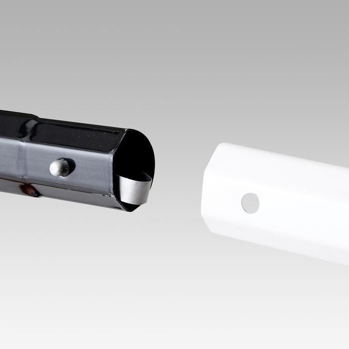 Voetbaldoel SG500 maat M wit/zwart