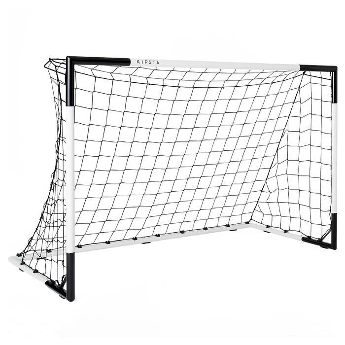 Fußballtor SG 500 Größe M weiß/schwarz
