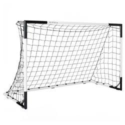 Portería de fútbol SG 500 talla M blanco/negro