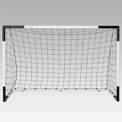 Voetbaldoeltje Classic Goal SG500 maat M 1,80x1,20 m wit/zwart