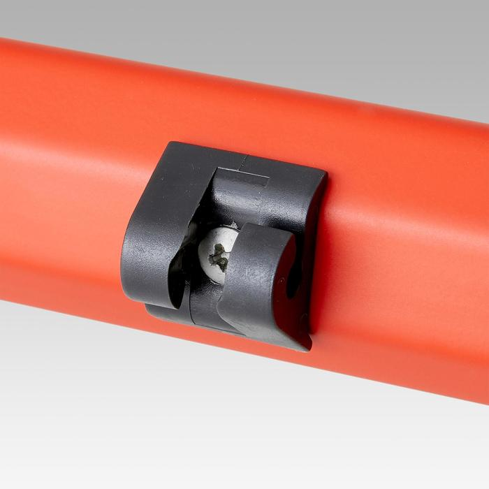 Fußballtor SG 500 Größe M rot/orange