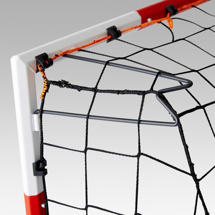 Voetbaldoeltje Classic Goal SG500 maat M 1,80x1,20 m rood/wit