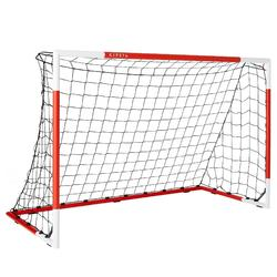 Voetbaldoeltje Classic Goal SG500 maat M 1,80x1,20 m rood/wit