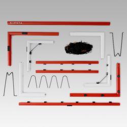 Voetbaldoel SG500 maat M grijs
